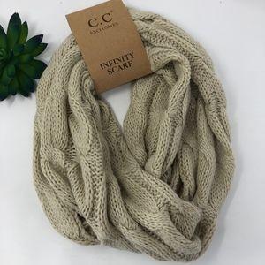 NWT C.C Knit Infinity Scarf